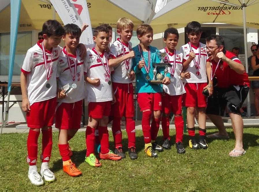 2. Platz Bei Sommercup In Prutz