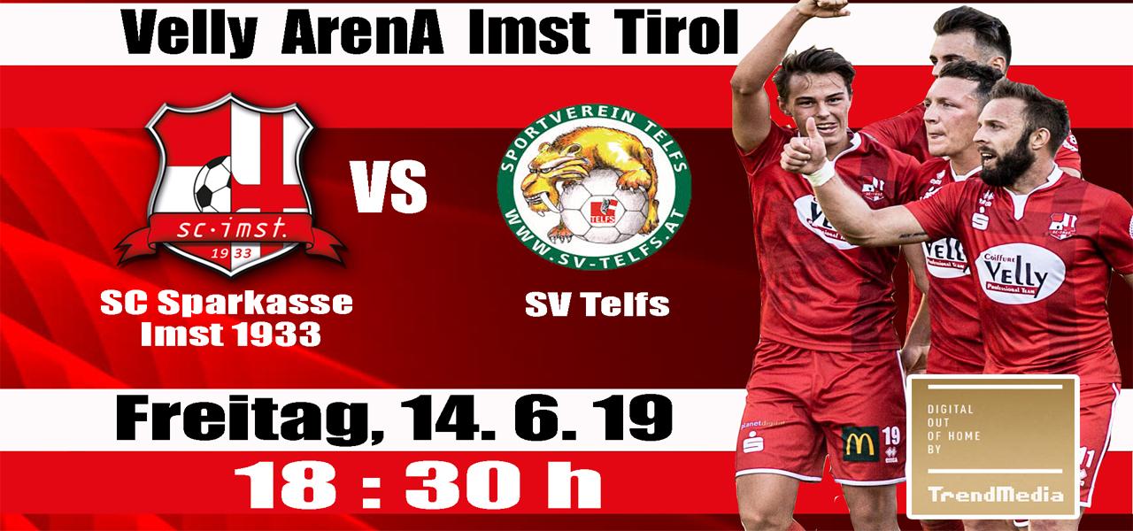 Ein spannendes Derby zwischen dem SC Sparkasse Imst 1933 und dem SV Telfs in der Velly Arena Imst Tirol in der letzten Runde der UPC Tirolliga ist zu erwarten.