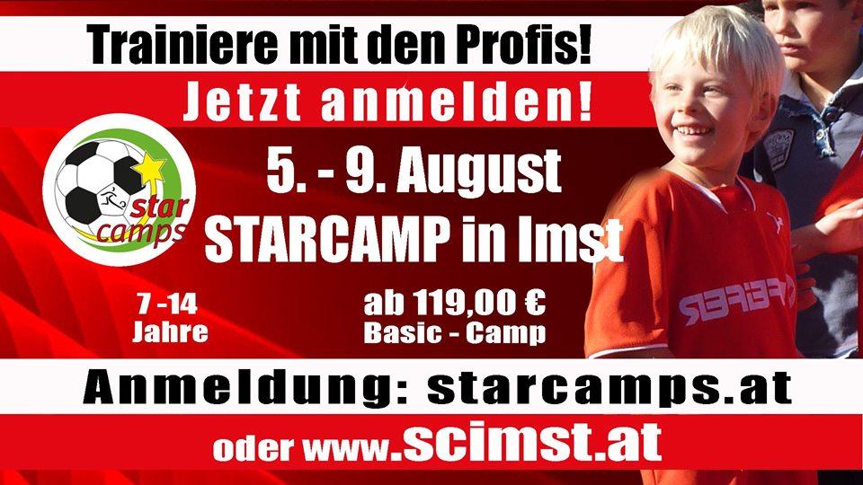 """STARCAMP 2019 """"Trainiere mit den Profis"""""""