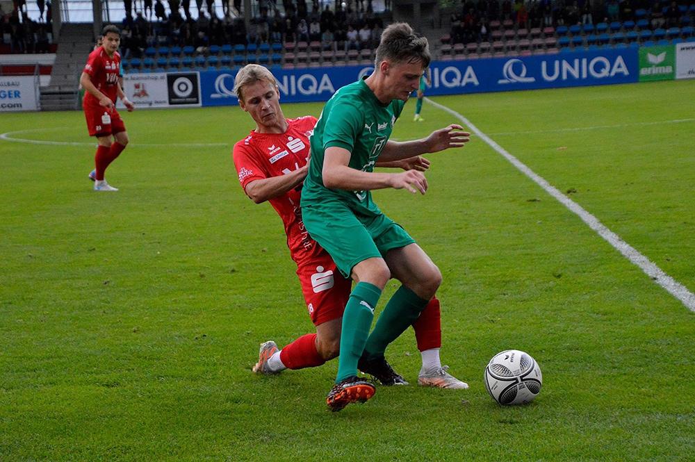 3:3 Im Spiel Gegen Die WSG Tirol Amateure